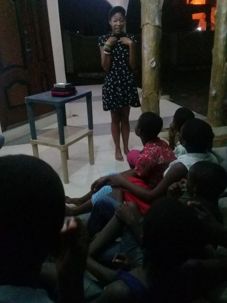 Ghana Buduburam Orphanage Presentation 2 Nov 2018