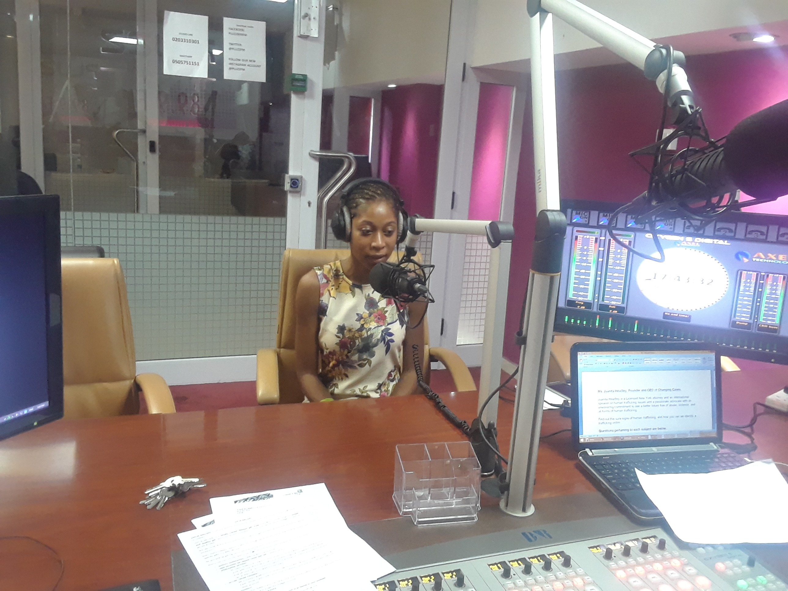 Pluzz Radio, West Hills Mall, Ghana Interview 3of3